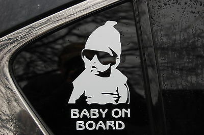 Baby on Board Hangover Carlos car sticker Decal laptop