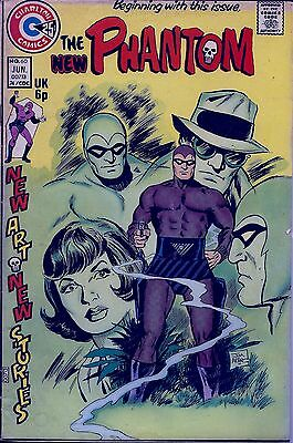 The Phantom(Charlton) # 60   Continuing Adv. of Falk's character FREE SHIPPING !