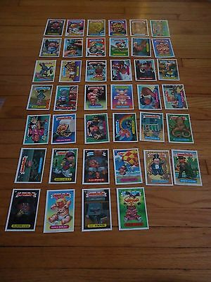 Garbage Pail Kids Series 15 15th A Set Diecut Trading Cards 1988 581-620