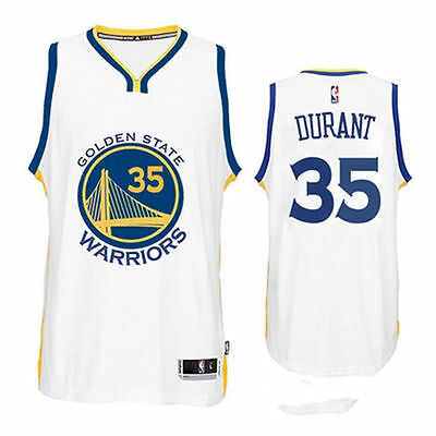 NBA Golden State Warriors Kevin Durant #35 Men`s Jersey - White