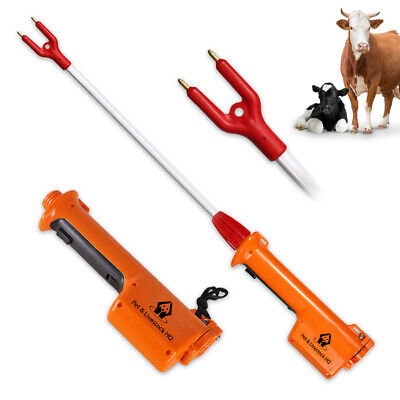 Cattle prodder stock prod electric shock cow rechargeable voltage 71cm 9000V new