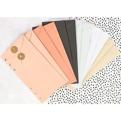 My Prima Planner String Tie Envelope Inserts 12 in a Pack - Frank Garcia A5 Acce