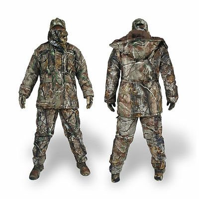 Men's Thermal Tactical Clothing Waterproof Military Camouflage Hunting Suit