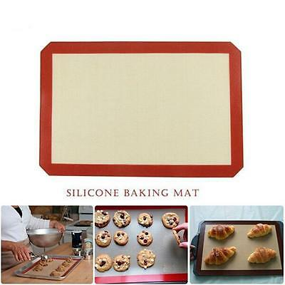 1PCS Kitchen Silicone Mat Baking Oven Pastry Liner Nonstick Cake Sheet Silpat G