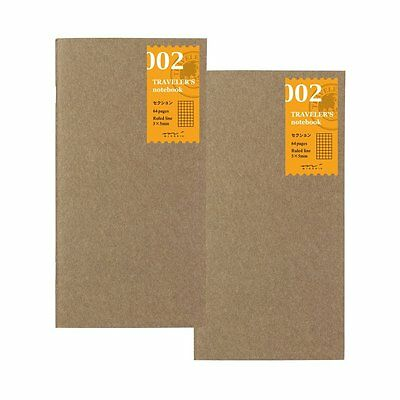 Midori Traveler's Notebook Refill Section 14246006 64 Pages