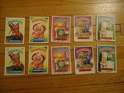 Garbage Pail Kids Series 5 5th Complete 1986 167-206 Trading Cards
