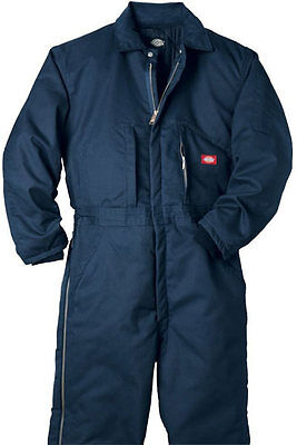 Dickies Men's Lined Coverall Navy Big &Tall TV261DN
