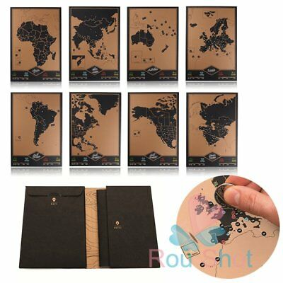 New Adventure Scratch Off Journal By Luckies World Maps Perfect For Trips Travel