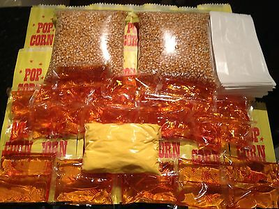 Ultimate Popcorn Fundraiser Pack!! 300 bags of Cinema Style Corn, oil, salt bags