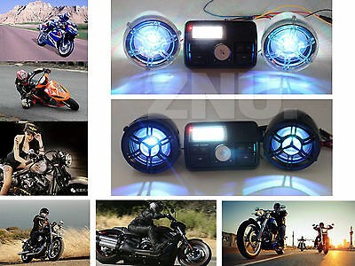 Bluetooth MP3 Player ATV Motorcycle Handlebar Audio System Radio Stereo Speaker