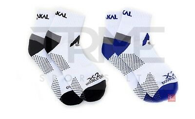 Karakal X2+ Mens Ankle Socks - UK7-13 (2 Colours Available)