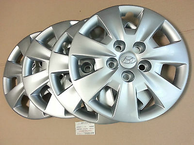 "Hyundai I30 2008-2011 15"" Genuine Brand New A Set(4Pc) Of Wheel Hub Cap"