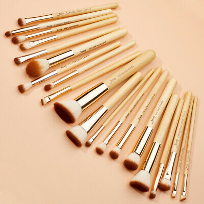 UK Jesssup Bamboo Professional 20Pcs Makeup Cosmetic Brushes Set Eyeshadow Brow