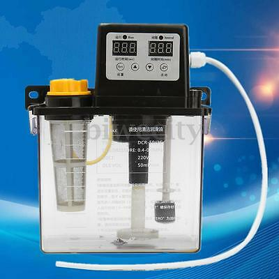 220V 1.8L Dual Digital Display Automatic Electric Lubrication 1.0Mpa Oiler Pump