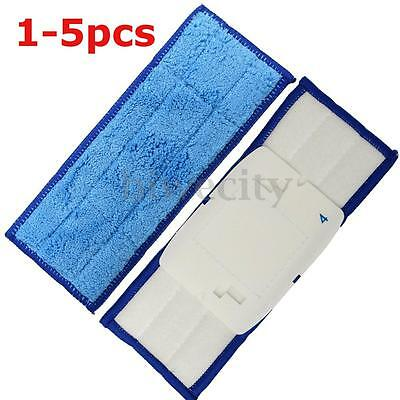 1~5Pcs Replacement Washable Dry Mopping Pads For iRobot Braava Jet 240 Cleaner