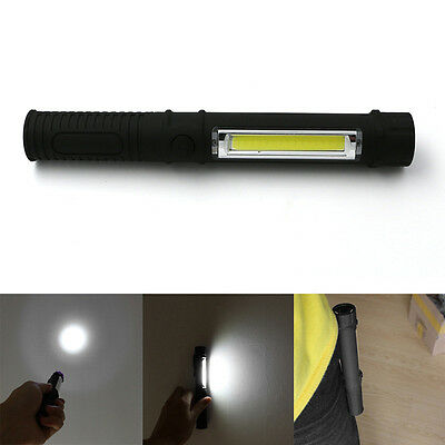 Warterproof LED Flashlight Torch Light Lamp with Magnet Maintenance Lights
