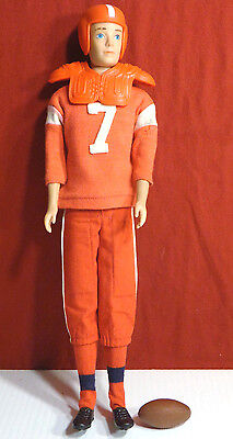 Vintage Ken Barbie Doll by Mattel 1962 & Touchdown Outfit # 799 1964 COMPLETE