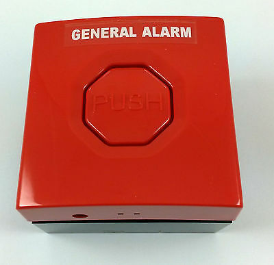 STOPPER SWITCH SS3000 SERIES STi RED - FIRE ALARM PUSH BUTTON