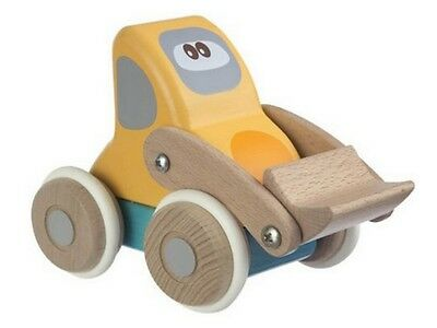 Chicco Dig n Dump Wooden Toy Truck with Rubber Tyres for Age 12 Months and Up
