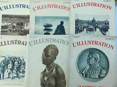 Lot 32 N° L'illustration 1937/31/35/33/32/29