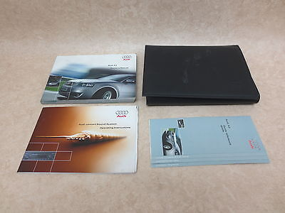 Audi A3 Owners Handbook/Manual And Wallet 03-05