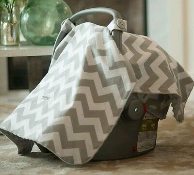 -1%5 Baby Car Seat Hood Shade Canopy Infant Carrier Universal Replacement