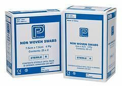 Premier Absorbent Non-Woven Sterile Swab, 4 Ply, 5 per pouch