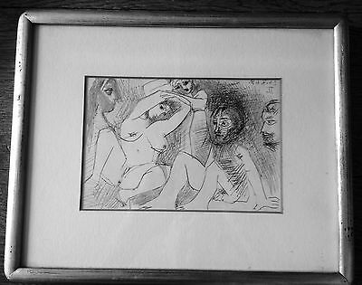 Pablo Picasso- 347 Series-Limited Edition framed lithograph- erotica-Switzerland