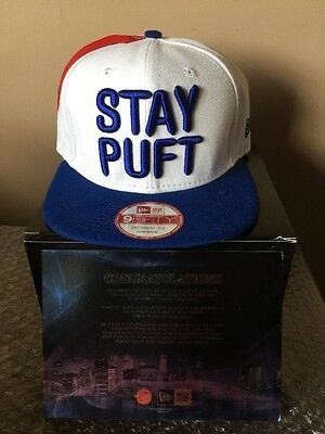 New Era 9FIFTY snapback collectible The Real Ghostbuster Cap 1 of 100 Stay Puft