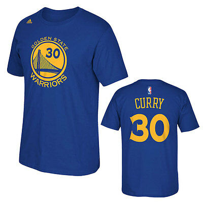 Stephen Curry Adidas Golden State Warriors NBA Boys T-Shirt - Youth S, M, L, XL