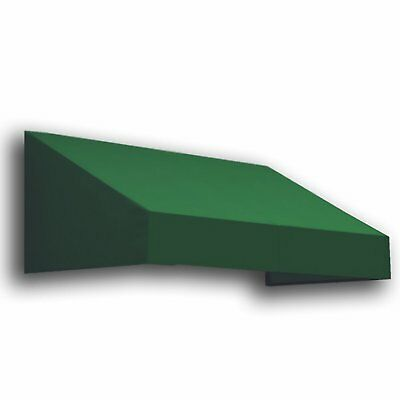 Awntech 3Ft New Yorker Window/Entry Awning, 24in H by 36in D, Forest Green