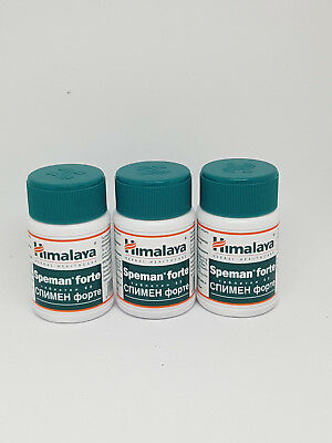 Speman Forte Himalay Herbal 3 Jars x 60 ( 180Tablets )  ** UK SELLER **