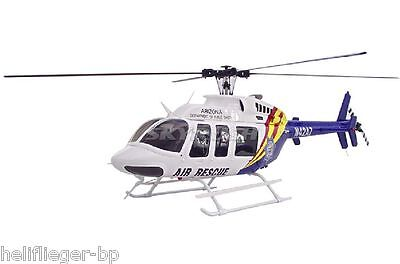 Scale Heli Bell 407 Air Rescue  mit COMPACTOR 470 Mechanik