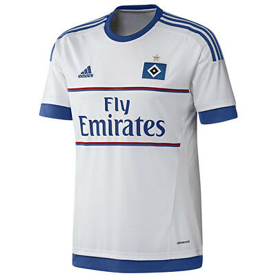 adidas HSV Hamburger SV Home Trikot Kinder Heimtrikot Junior Hamburg weiß 2016