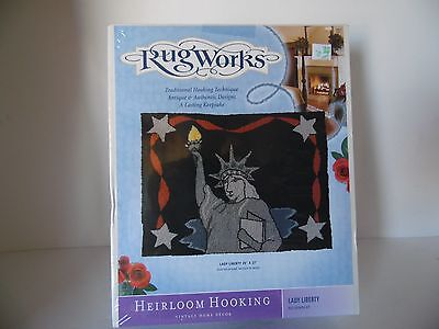 Rug Works Heirloom Hooking Vintage Home Decor Kit, New In Box