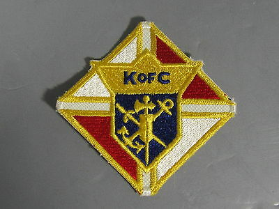 Knights of Columbus Patch / New Old Stock of Closed Embroidery Co/ FREE Ship