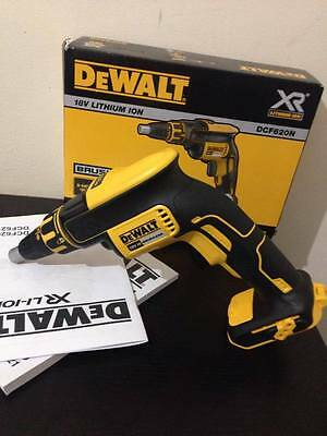 DeWalt DCF620N 18v Brushless Drywall Screwdriver Bare Unit - UK/EU WARRANTY!