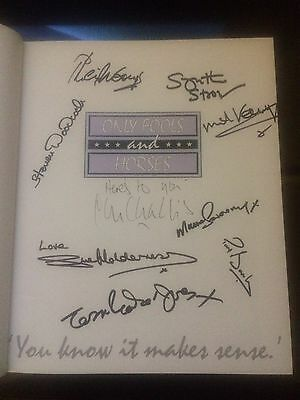 only fools and horses signed Book