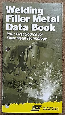 Welding Filler Metal Data Book ESAB Specifications Ships Free in USA