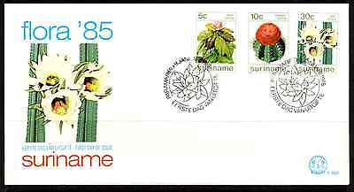 Suriname 1985 Fdc – Flowers #a0967