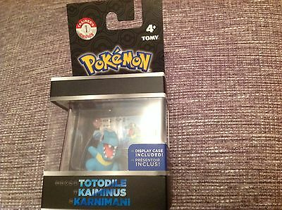 Pokemon Legendary  Figure - Totodile with display case