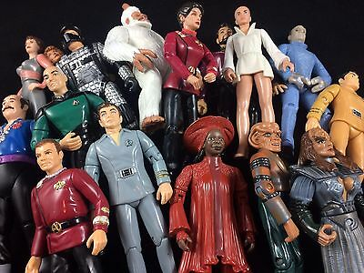 Star Trek Action Figuren Playmates Sammlung TNG TOS DS9 VOY Figures