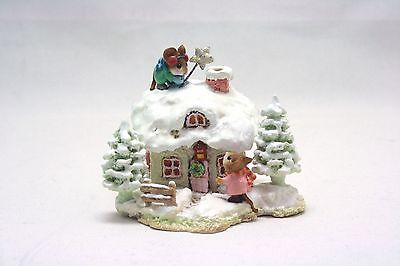 Wee Forest Folk WFF - A Cottage For All Seasons - Christmas Cottage 2006