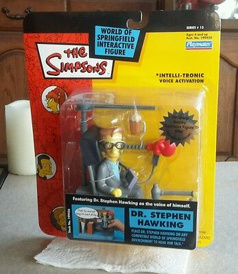Playmates Wos Simpsons Series   Interactive Steven Hawking- Mosc!