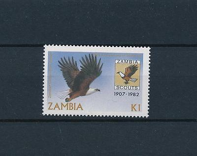 [51174] Zambia 1982 Scouting Bird Eagle from set MNH