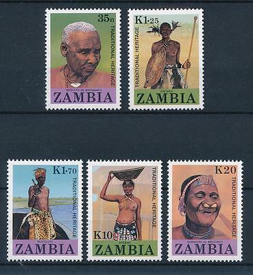 [51218] Zambia 1987 Traditional Heritage Tribes MNH