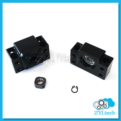 ZYLtech BF10 BK10 End Support Bearing Block for Ball Screw 1204