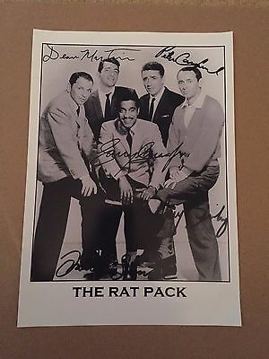 THE RAT PACK  Photocopy and sign ALL 5 of the GREAT PACK of All