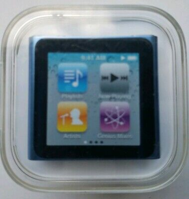 Apple iPod nano 8 GB Light Blue (6th Generation) NEW & Factory SEALED A1366