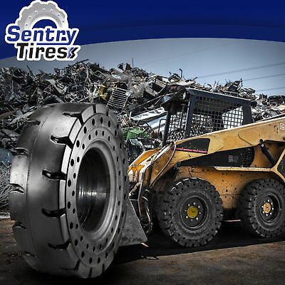 8.15-15 8.15x15 Sentry Tire Solid Forklift Tires (1 Tire) SD PATTERN 28x9-15